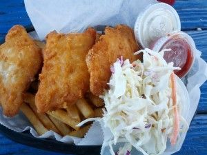 Fish & Chips At Stoney's Seafood House
