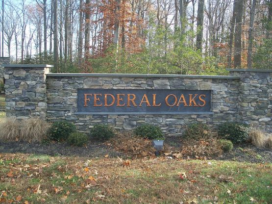 Calvert County Neighborhood Guide Federal Oaks Sunderland MD 20689 Entrance