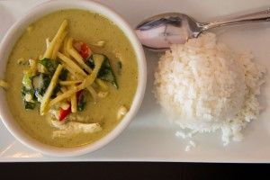 EZ Thai Restaurant Green Curry