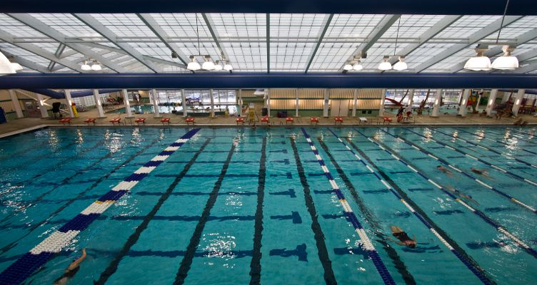 The Edward T. Hall Aquatic Center: Not Just An Indoor Pool