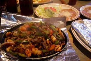 La Tolteca Mexican Restaurant Fajita Texanas