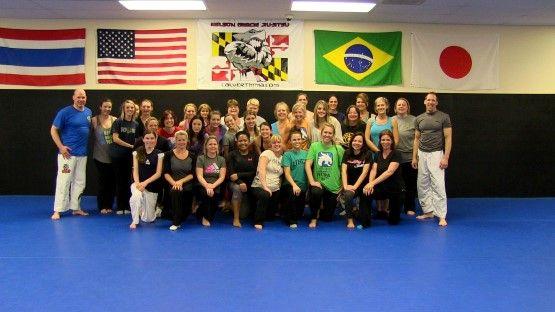 Ladies-Self-Defense-Seminar-Supports-End-Hunger_03_YourCalvert