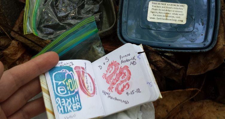 Letterboxing In Calvert County MD: The Pleasure Of Finding Hidden Treasure