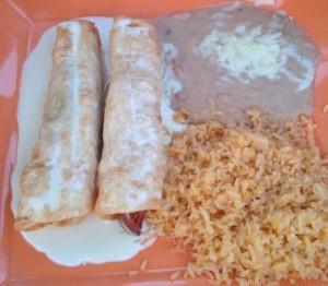 Monterey Mexican Restaurant Chimichangas