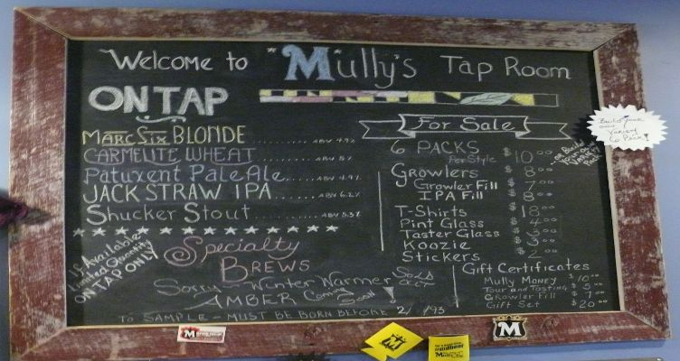Mullys Brewery: A Southern Maryland Craft Brewery You'll Love