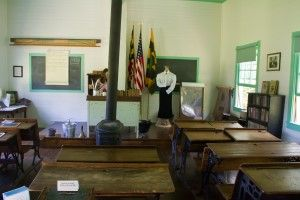 Port Republic School Number 7  One Room Schoolhouse Classroom