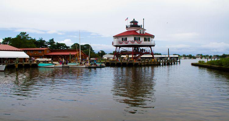 Solomon's Drum Point Lighthouse