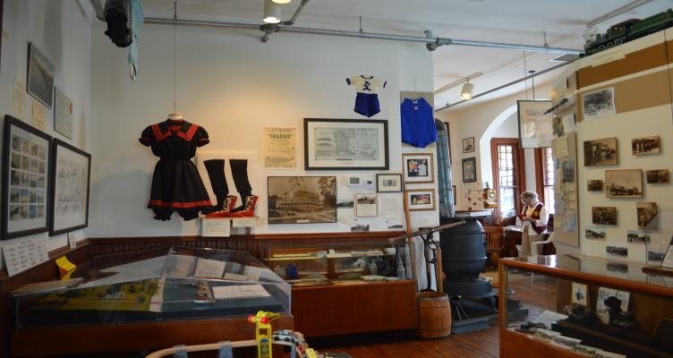Travel Back In Time At The Chesapeake Beach Railway Museum