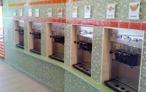 Yogurt City Frozen Yogurt Dispensers